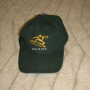 NWT Men s or Women s Ballcap Dakine New NWT Maui Hawaii Hat Dark Green ... 8fc31f0221cf